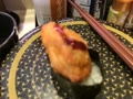 お昼ごはんに、回転寿司に来たよ〜〜エビ天握り食べるよ〜〜ん!(*^_^*)!